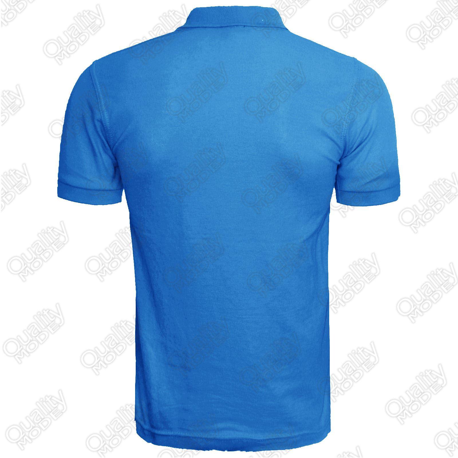 Mens Polo Shirt Striped Short Sleeve Top Golf Tennis T
