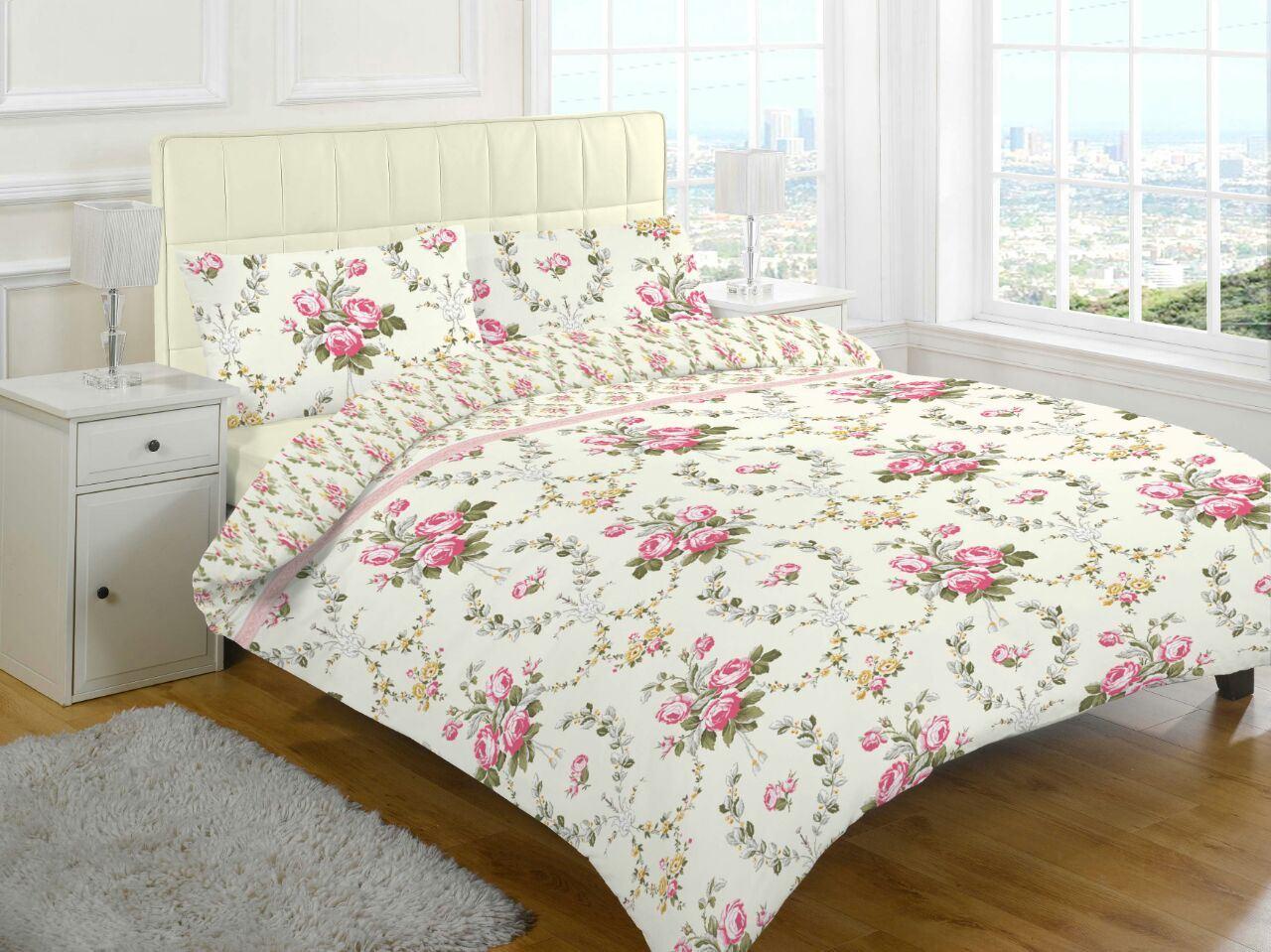 Flannelette Duvet Cover 100 Cotton Brushed Quilt Bedding