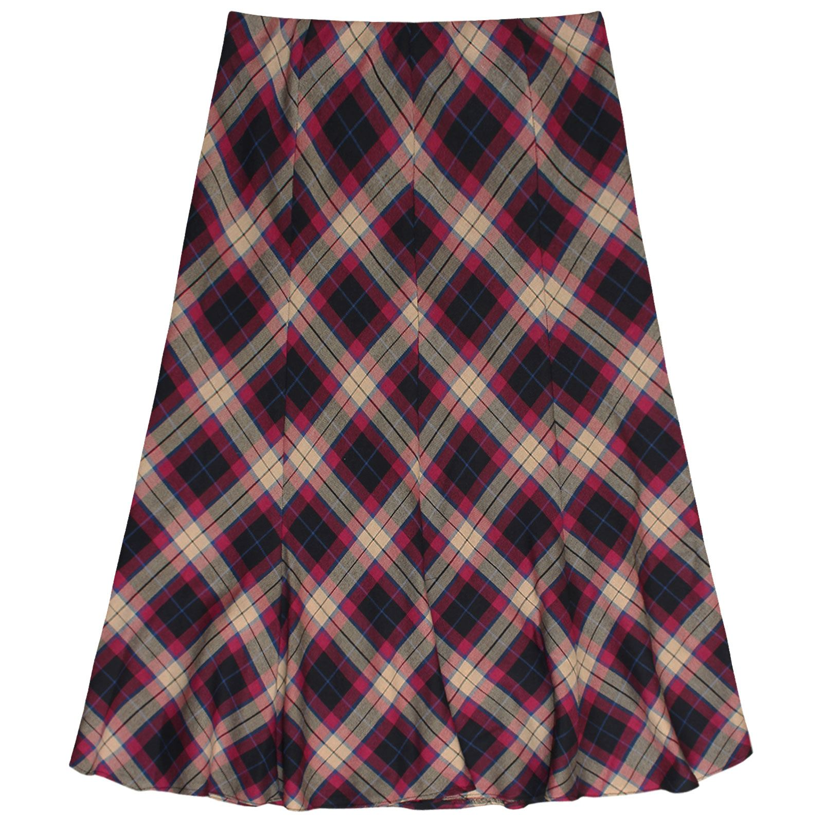 Choose from a range of over tartans to create a sophisticated long fluted skirt tailored to your measurements. Wear it with a solid colour top or one of our matching round or vee neck tailored tartan tops for the perfect outfit for a wedding or evening wear. Select from over tartans woven in jwl-network.gar: Anna White.