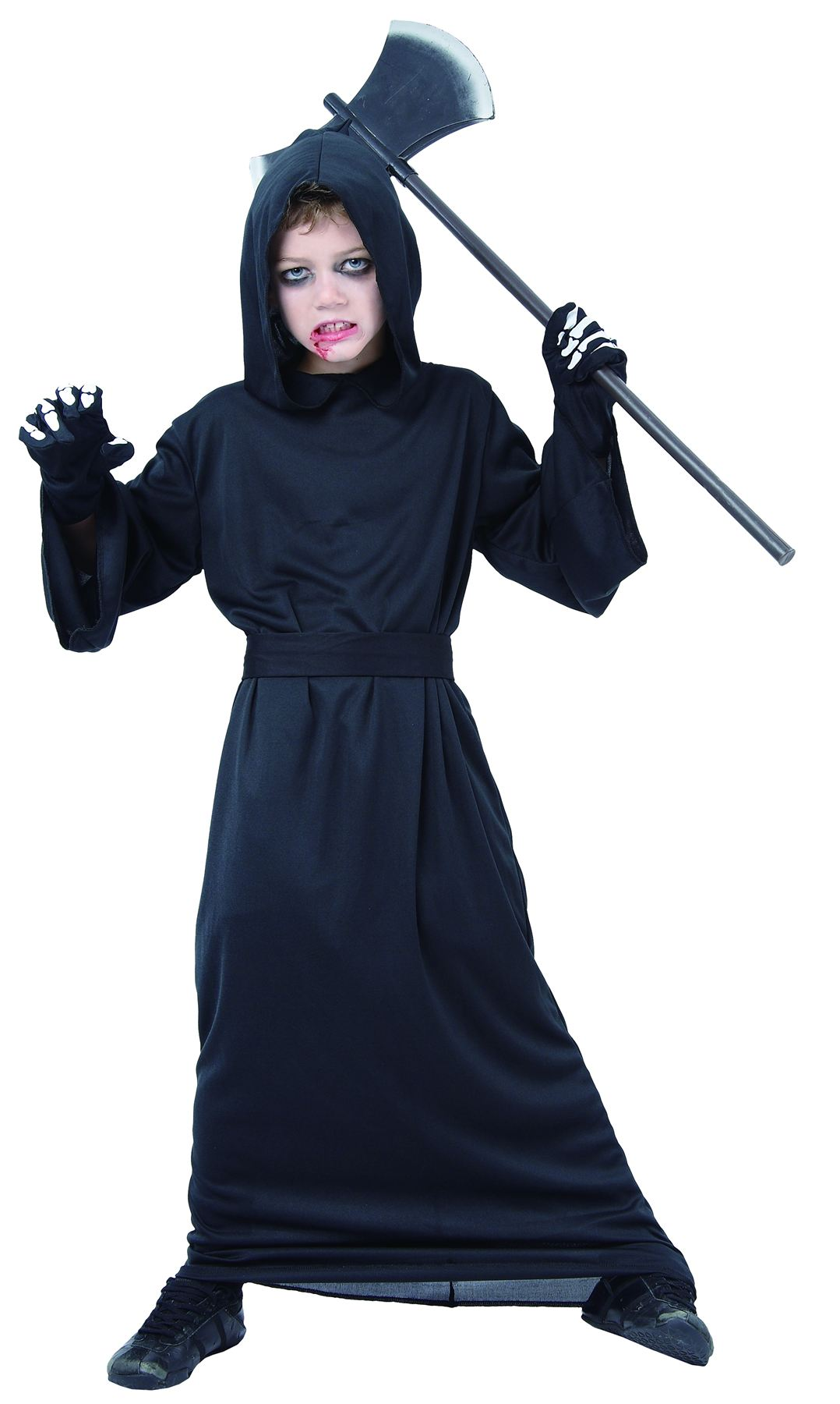KIDS HALLOWEEN FANCY COSTUME HORROR DRESS SKELETON VAMPIRESS WITCH ...