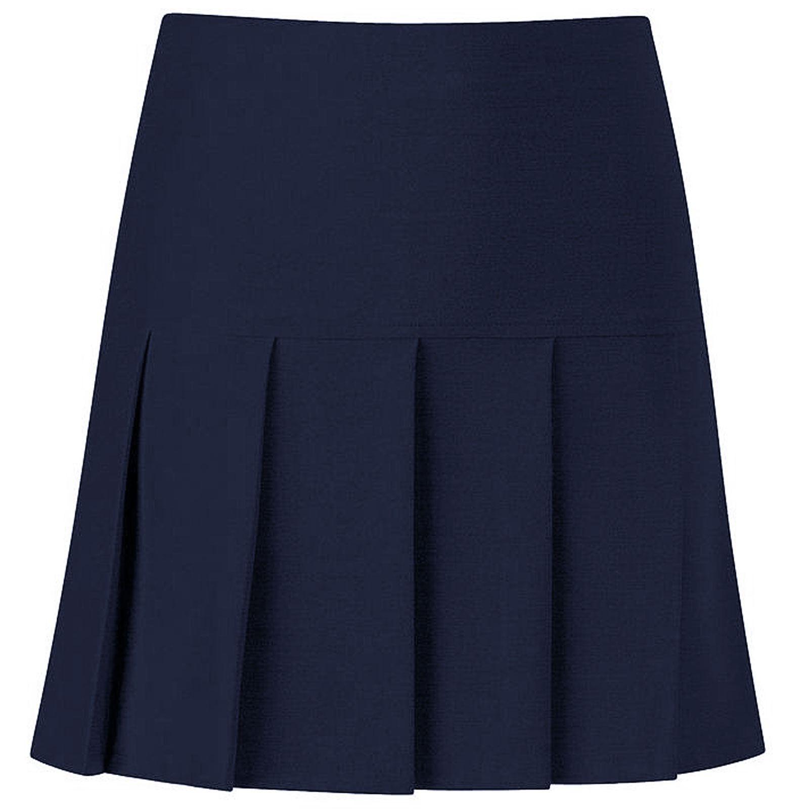 womens all pleated skirts drop high waist