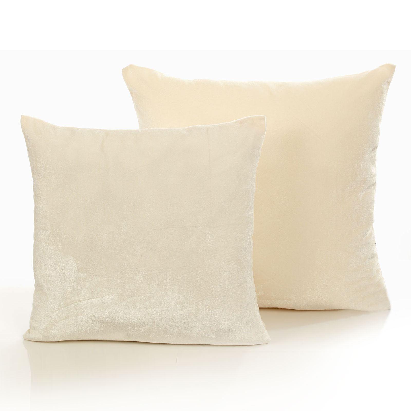 luxe fausse fourrure housse de coussin cas canap oreiller lit d coration velours look 45x45 ebay. Black Bedroom Furniture Sets. Home Design Ideas