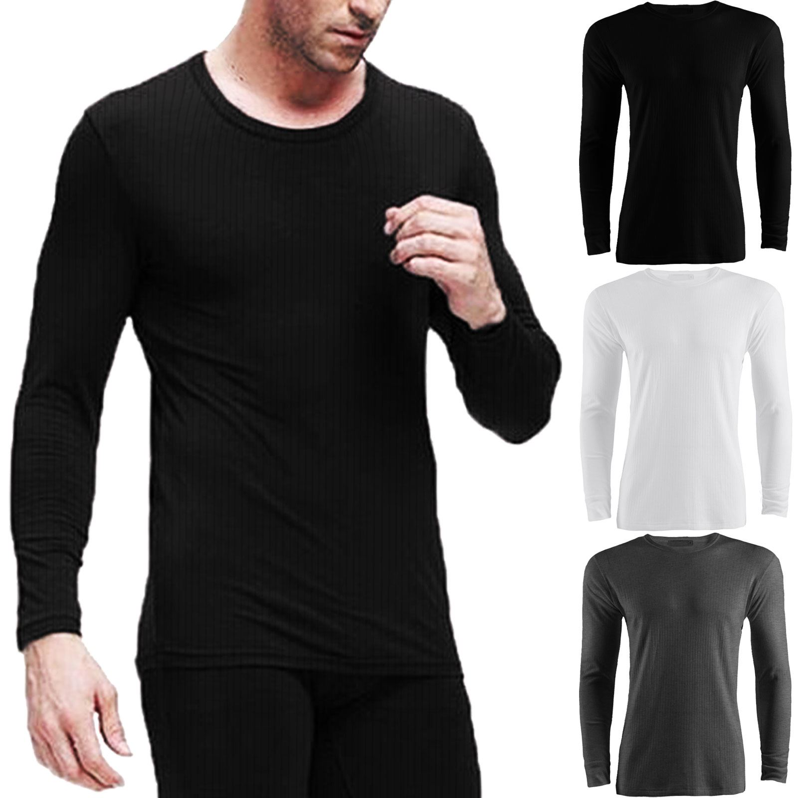 Adults kids thermal full sets underwear tops shirts long for Mens dress shirt onesie