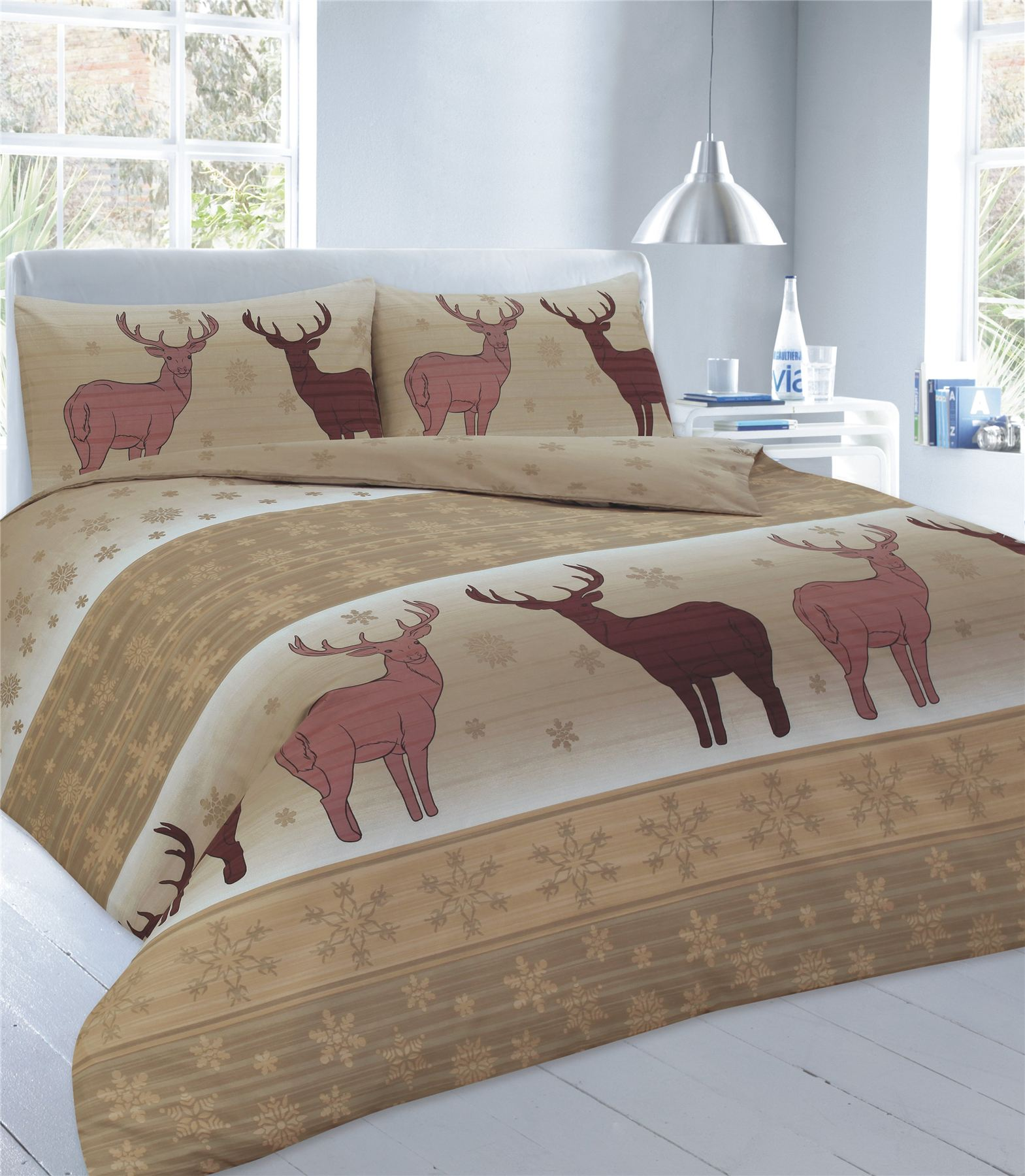 xmas duvet cover with pillow case christmas quilt bedding