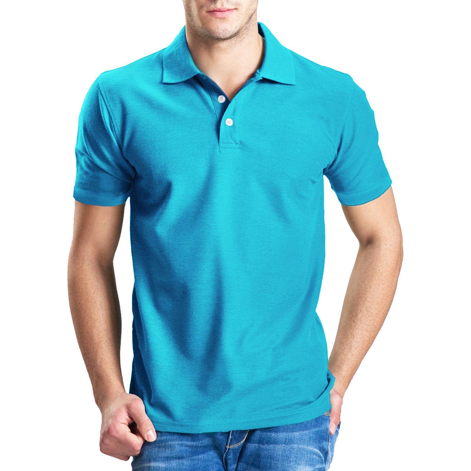 Mens polo shirt striped short sleeve top golf tennis t for Xxl mens polo shirts