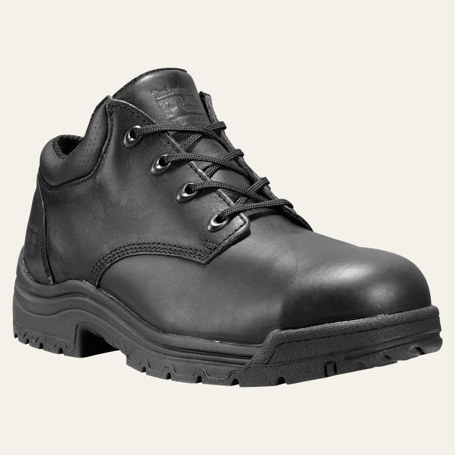Timberland Pro Shoes Mens Titan Alloy Safety Toe Black