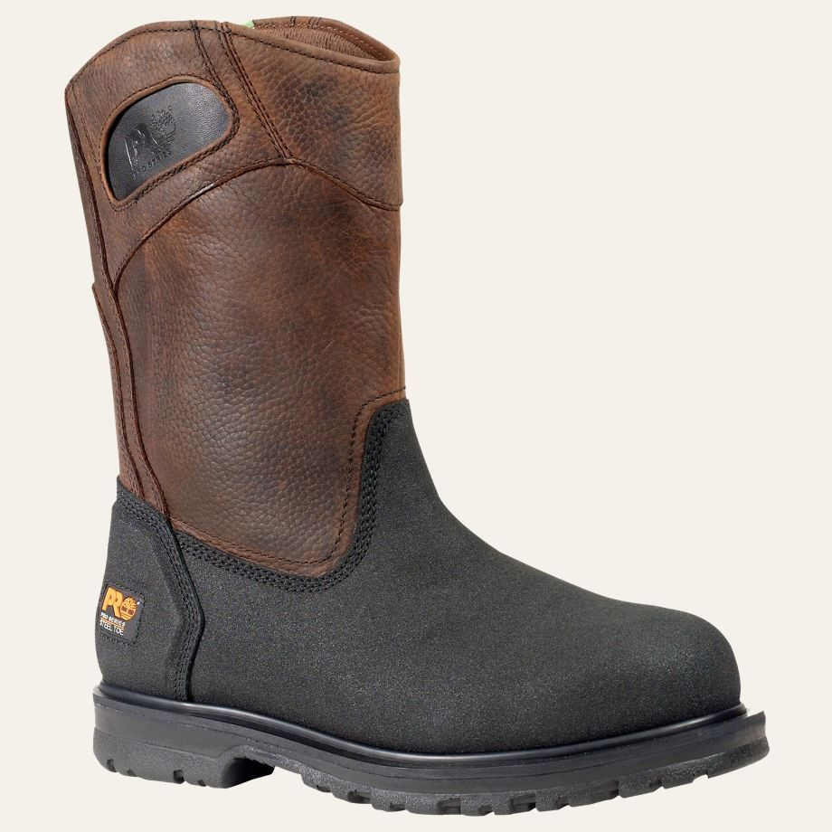 Timberland PRO Boots PowerWelt Wellington Steel Safety Toe ...