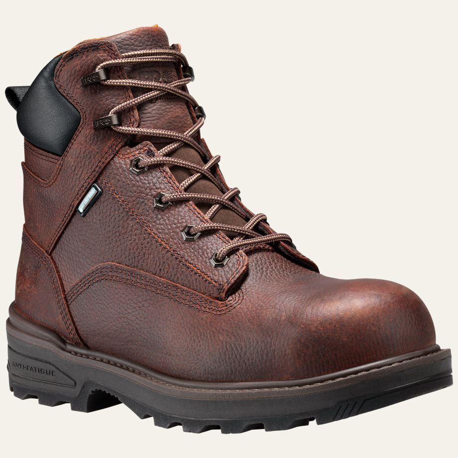 timberland pro boots mens resistor 6 quot composite safety toe