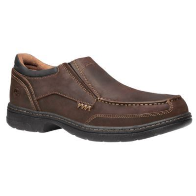timberland pro shoes mens branston safety toe slip on work