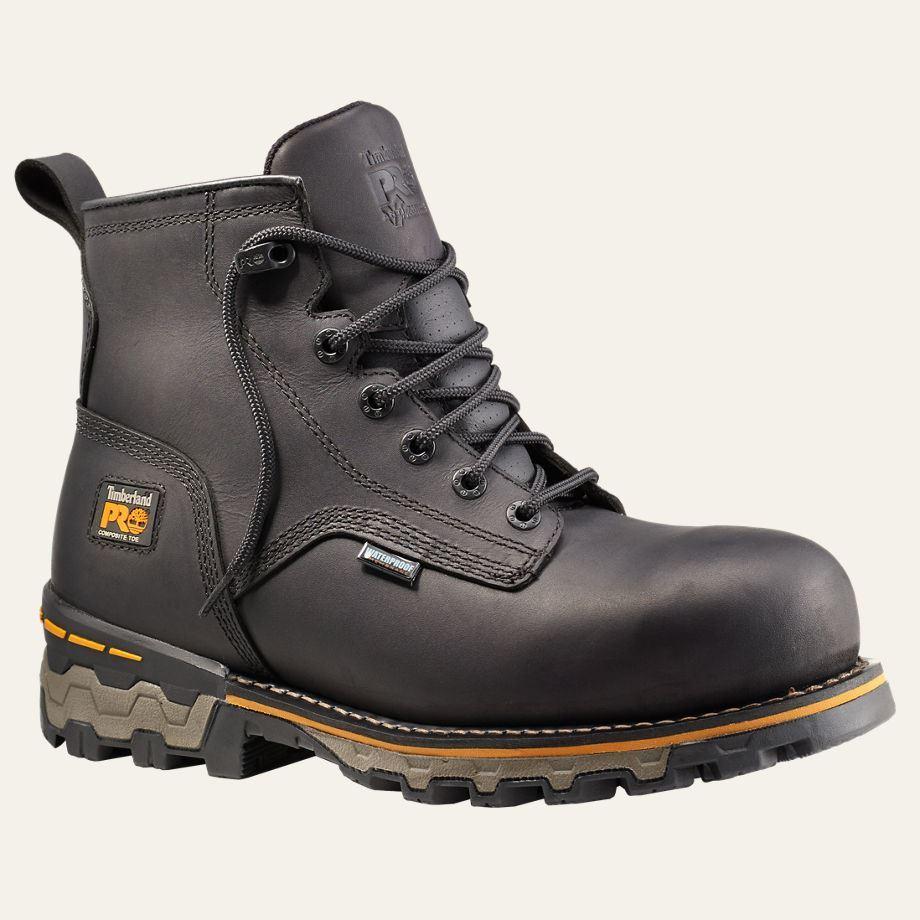 Timberland PRO Boots Mens Boondock 6u0026quot; Plain Composite ...