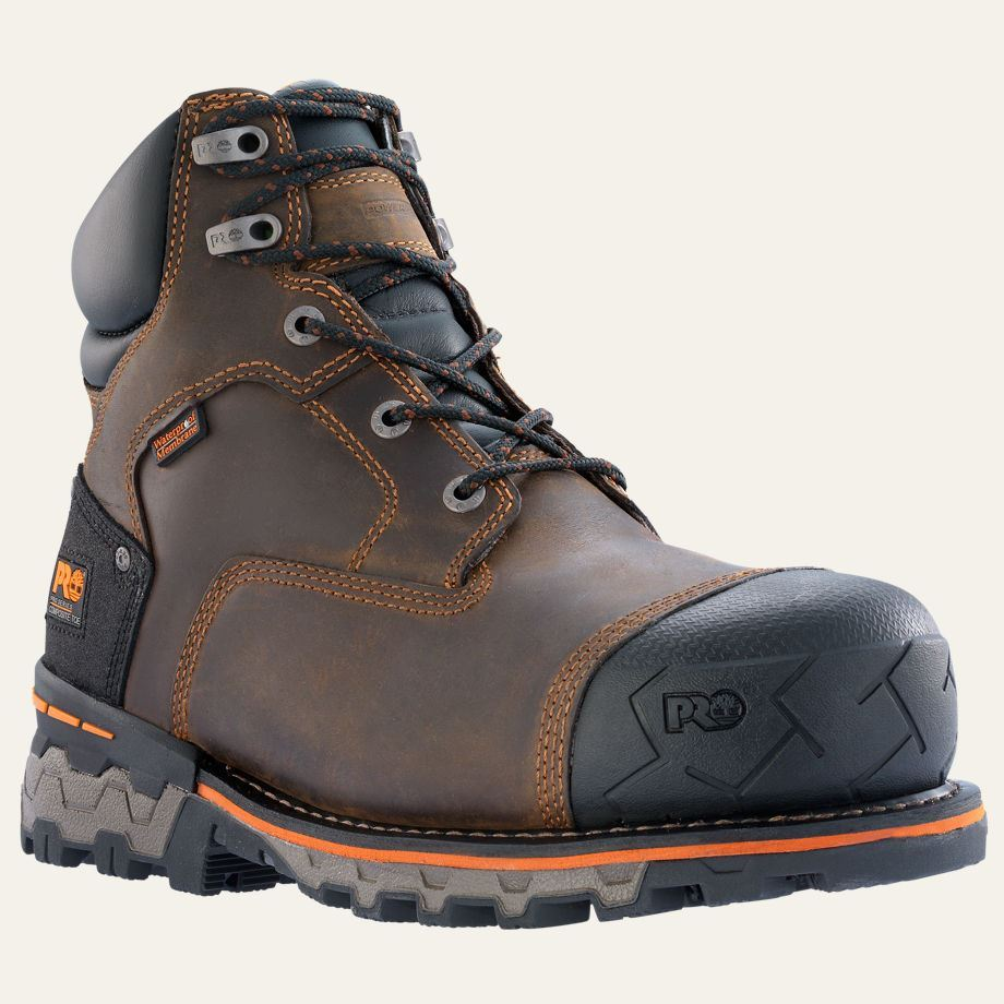 Timberland PRO Boots Mens Boondock 6u0026quot; Composite Safety Toe ...