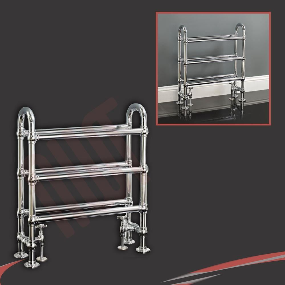 Traditional Bathroom Towel Rails Radiators Chrome White