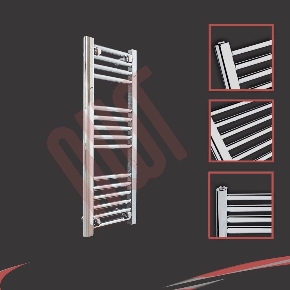 huge range designer heated towel rails chrome bathroom. Black Bedroom Furniture Sets. Home Design Ideas