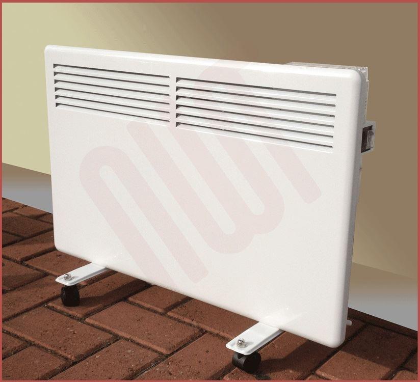 1000w Nova Live S Electric White Panel Convector Heater