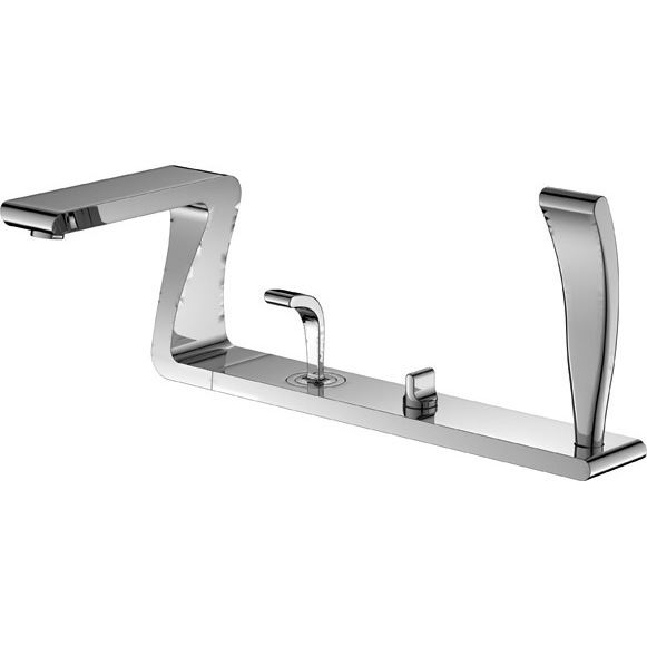 designer taps basin mixer bath fillers freestanding bath tap ebay