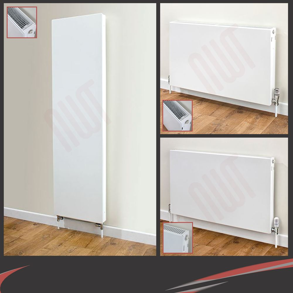 Vulcan Central Heating Radiators - Single & Double Panel/Fin Convector Radiators