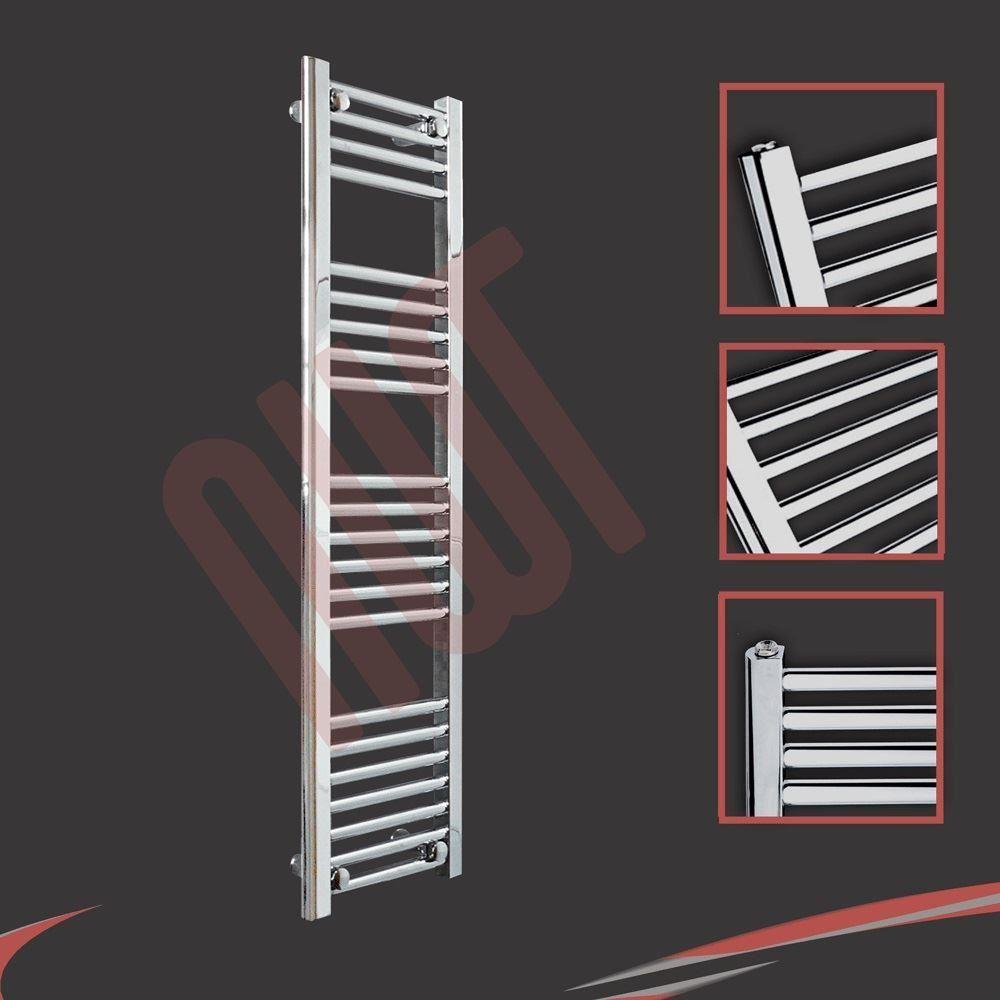 HUGE SALE Chrome Straight & Curved Heated Towel Rails Warmers Bathroom Radiators
