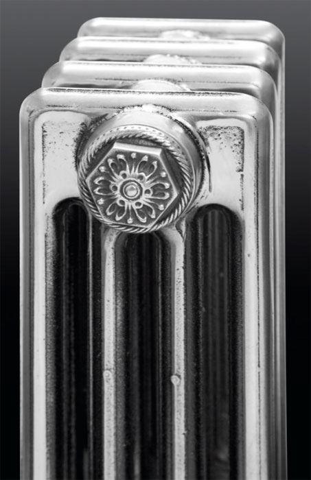 Nwt cast iron radiator decorative end caps set finished