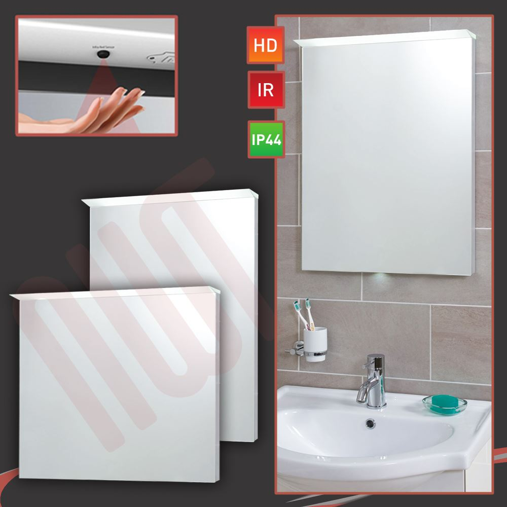 about designer lip led bathroom mirrors infrared heat demister