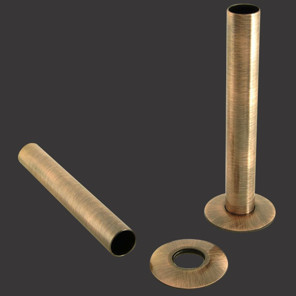 Nwt radiator pipe sleeves and collars pair finishes