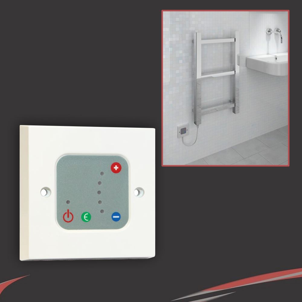 Radiator valve sets electric elements thermostatic - Electric bathroom radiators with timer ...