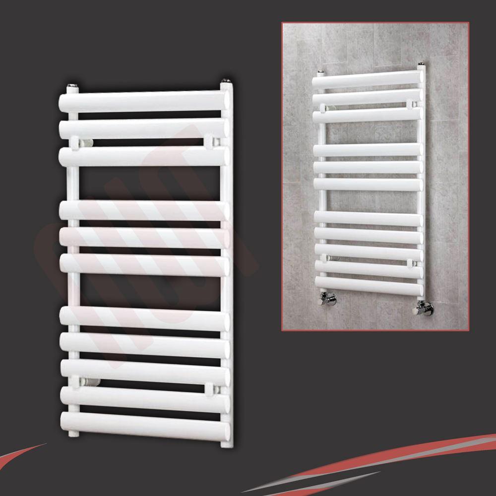Sale white amp black designer heated towel rails bathroom radiators - 034 Brecon 034 Designer Chrome Black Amp White