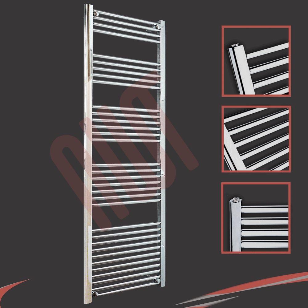 600mm w x 1800mm h badheizk rper bad heizk rper gerade chrom neu ebay. Black Bedroom Furniture Sets. Home Design Ideas