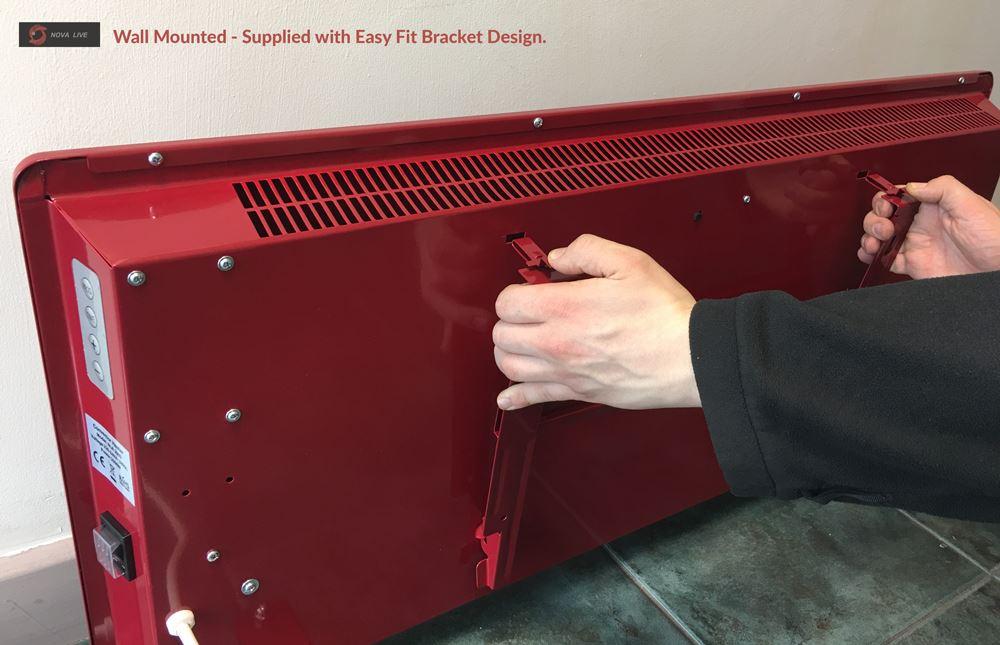 NOVA Live & ADAX Designer Electric Panel Heaters Wall