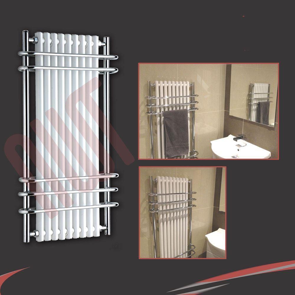 Traditional Bathroom Towel Rails Radiators Chrome Amp White