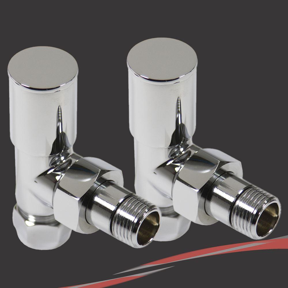 Accessori riscaldamento valvole radiatore nero bianco for Valvole caloriferi