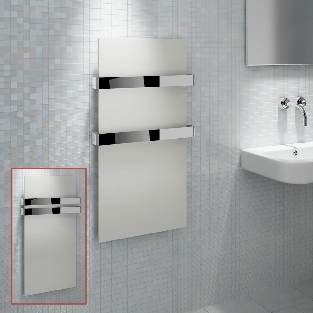 Kudox 034 Ikon 034 Designer White Heated Towel