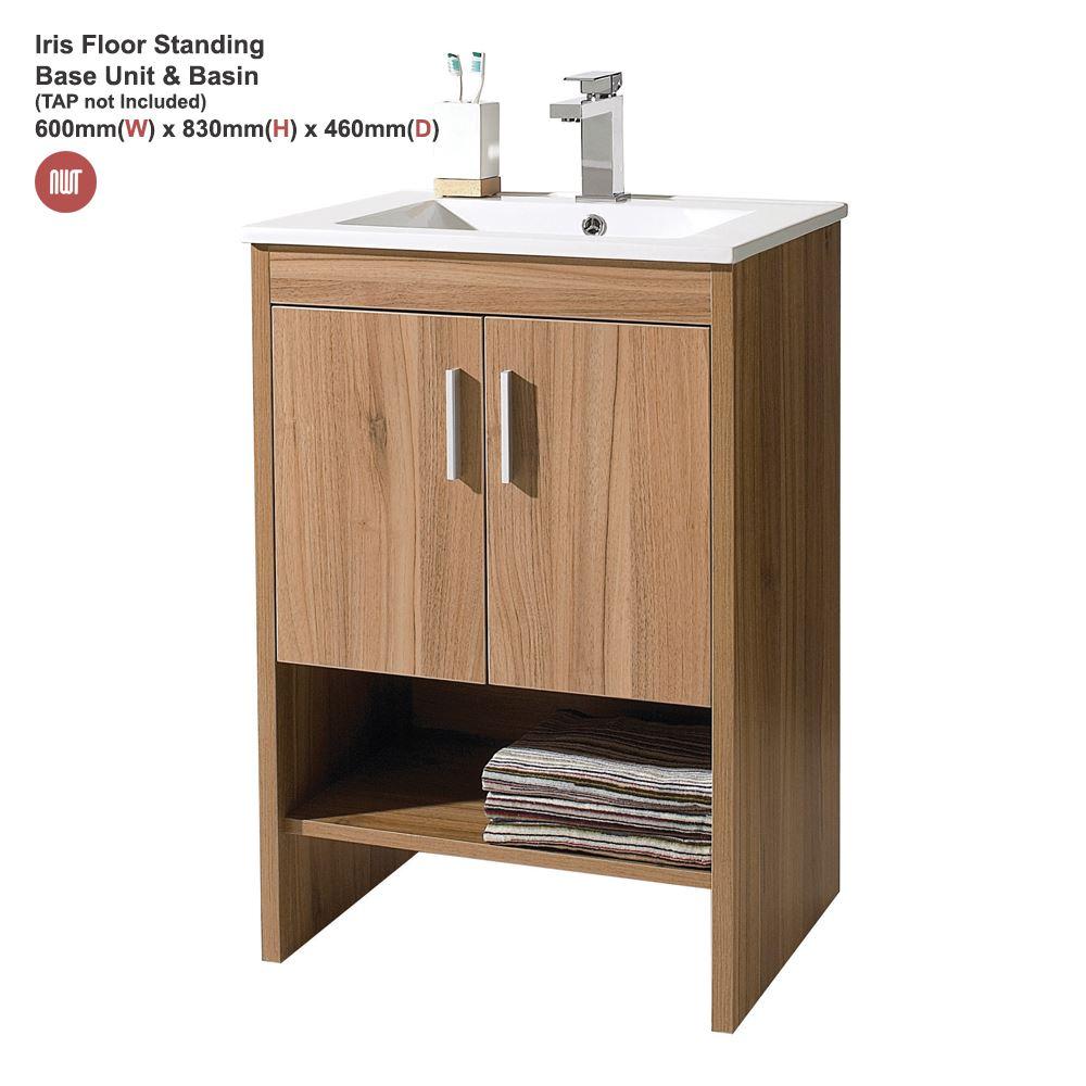 """""""Iris"""" Bathroom Furniture Range - Marango, Wall & Floor Mounted Units & Basins"""