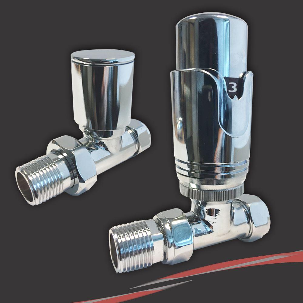 Thermostatique droit robinet de radiateur s che serviettes for Seche serviette sous fenetre