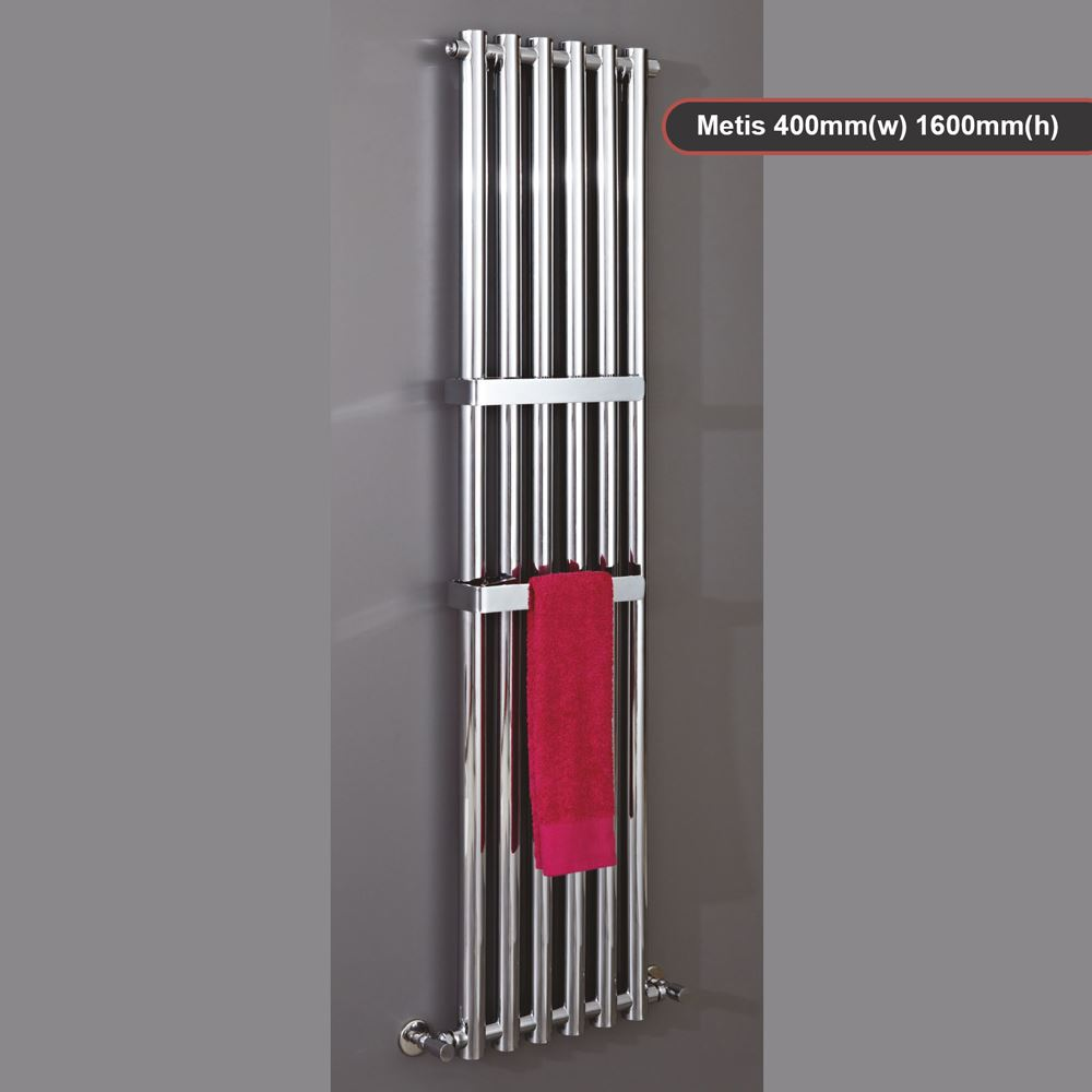 Mixed Designer Chrome Vertical Amp Horizontal Radiators