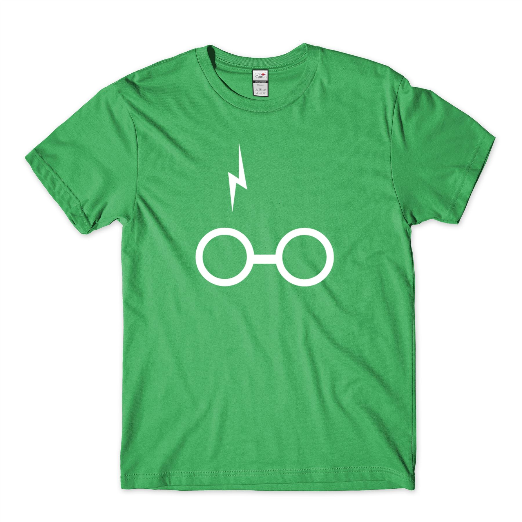 Brand New Harry Potter Scar And Glasses T-Shirt Wizard