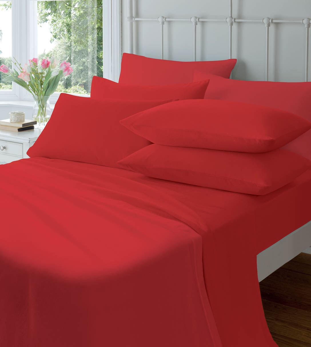 extra deep flannelette fitted sheets warm soft brushed. Black Bedroom Furniture Sets. Home Design Ideas