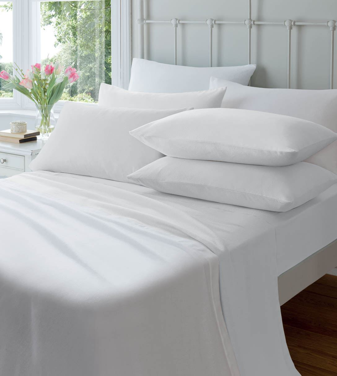 Extra Deep Flannelette Fitted Sheets Warm Soft Brushed