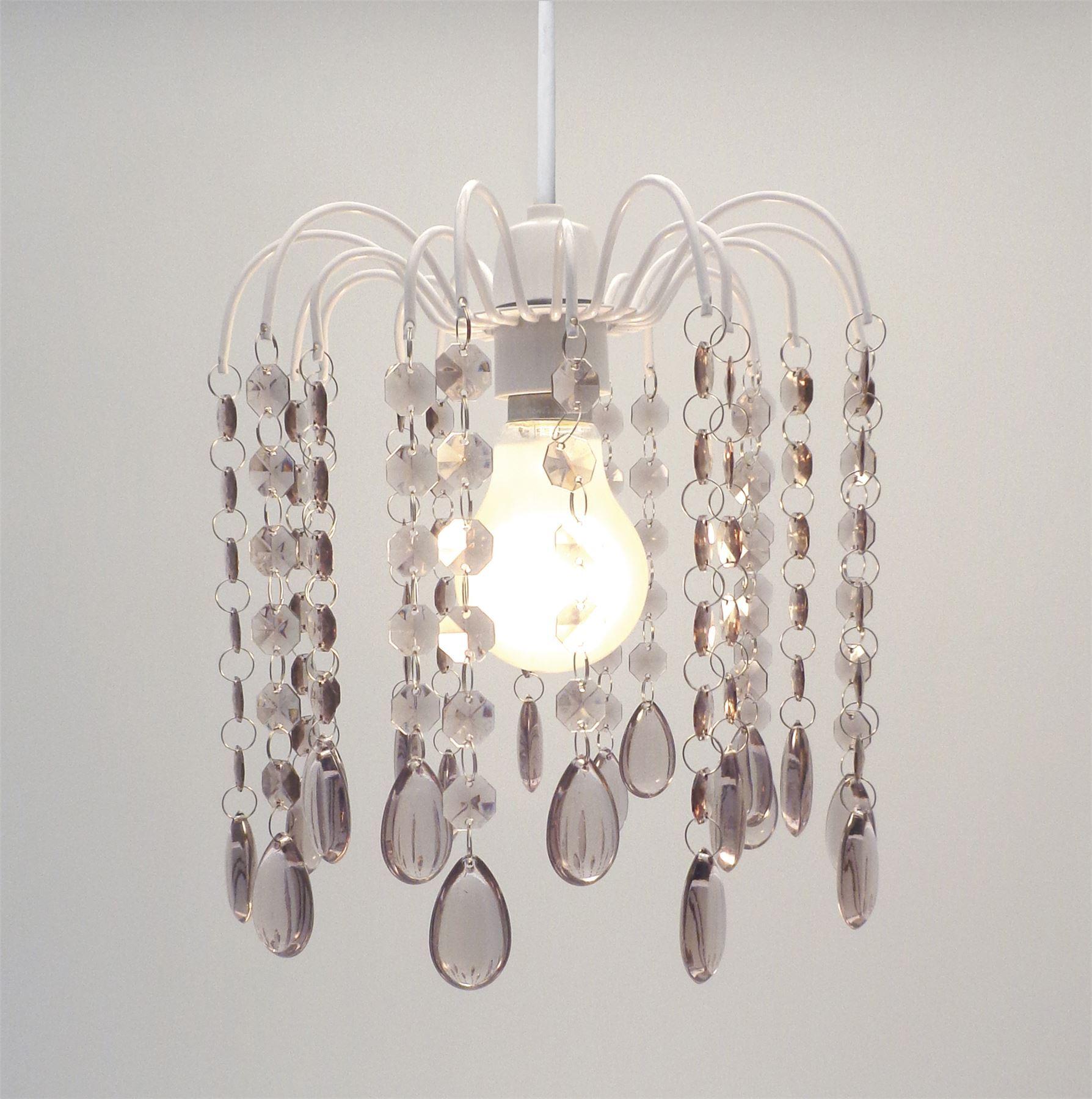 Droplet gem chandelier ceiling pendant light shade easy fit light droplet gem chandelier ceiling pendant light shade easy aloadofball Gallery