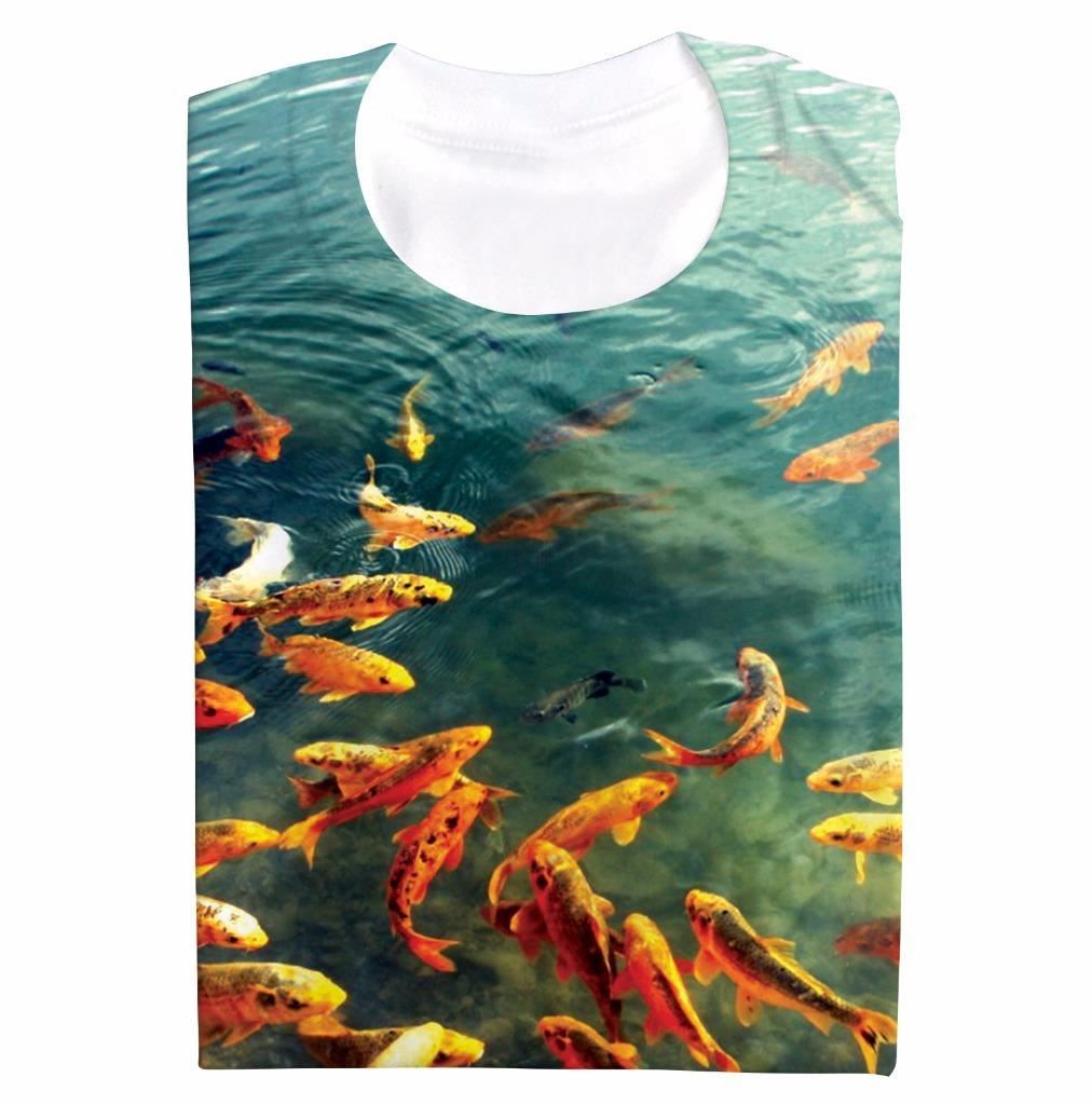 Koi carp pond fishing novelty fish hobbies gift all over for Koi fish gifts