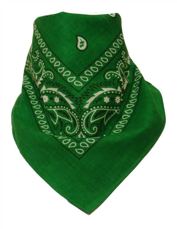 100 Cotton Bandana Headband Head Neck Scarf Wrist Band