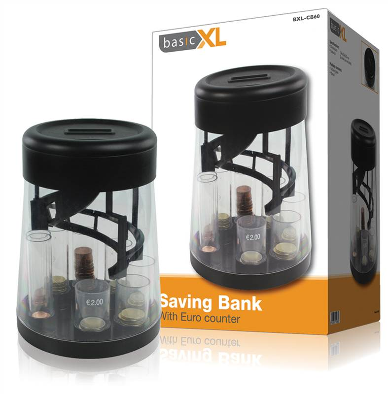 Counting money bank with coin sorter the ultimate piggy bank ebay - Sorting coin bank ...