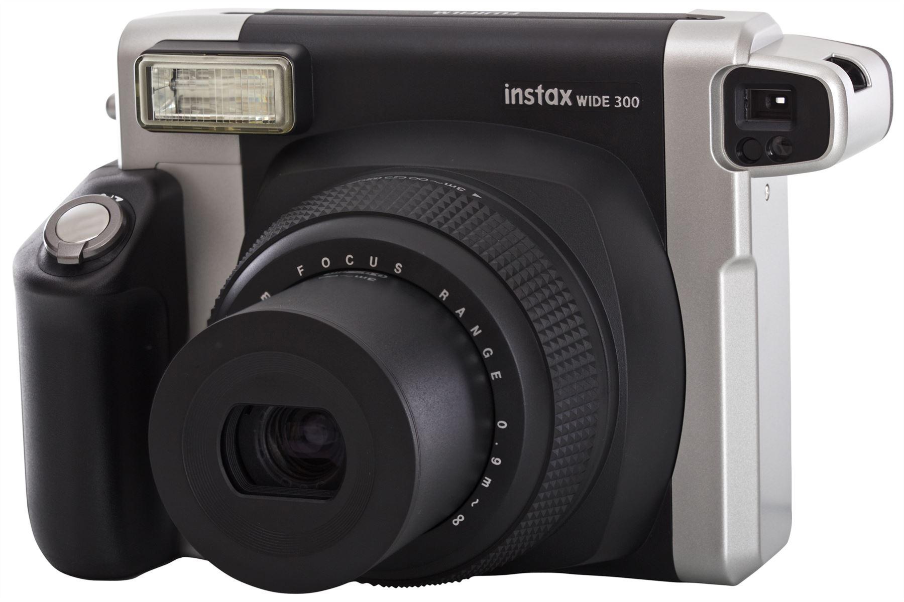 fujifilm fuji instax 300 wide picture format camera 10 shots film ebay. Black Bedroom Furniture Sets. Home Design Ideas