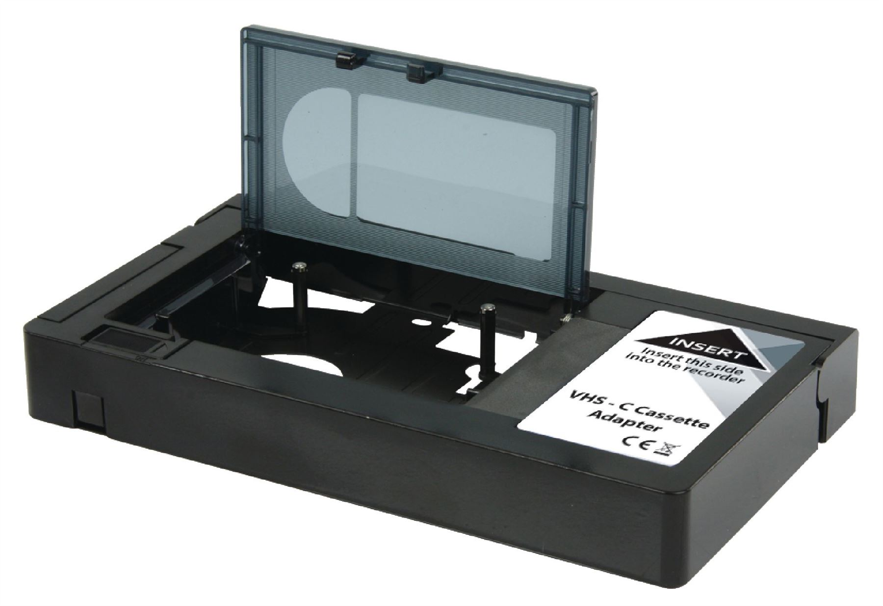 Konig vhs c to vhs cassette adapter converts video for Mobiletto camera