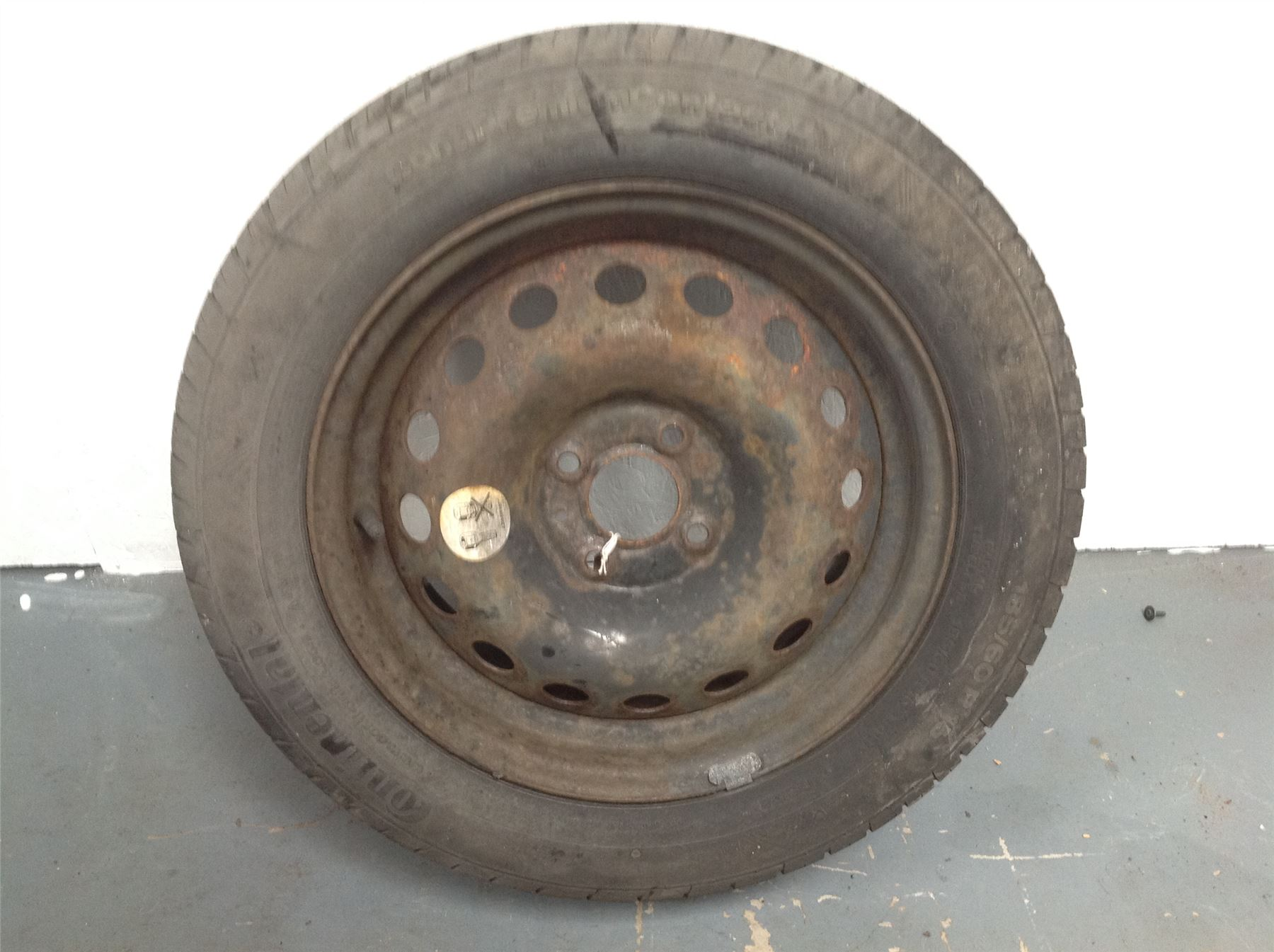 renault clio mk3 2005 2009 steel spare wheel 185 60 r15 ebay. Black Bedroom Furniture Sets. Home Design Ideas