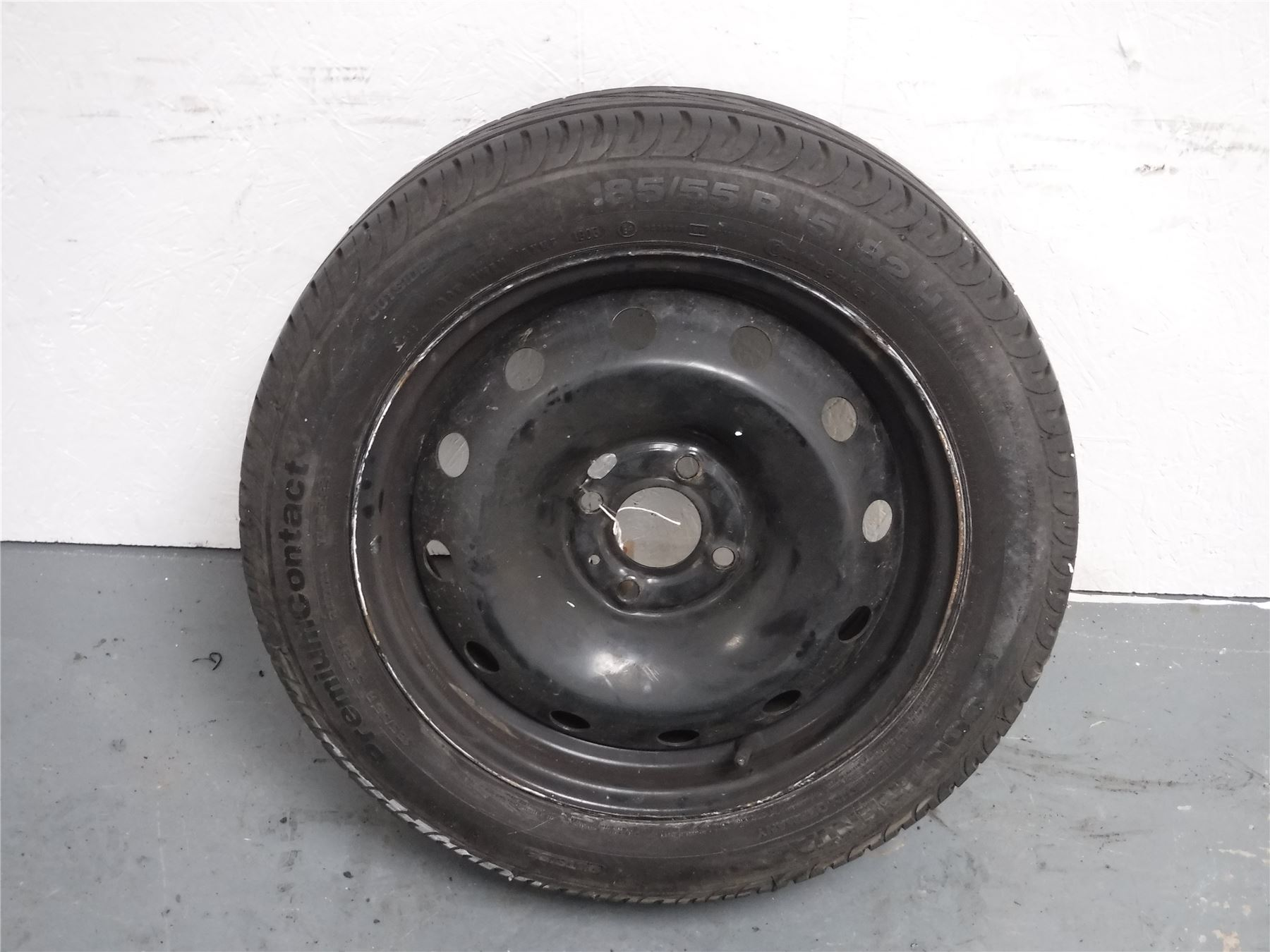 renault clio mk2 ph2 2001 2006 steel spare wheel ebay. Black Bedroom Furniture Sets. Home Design Ideas