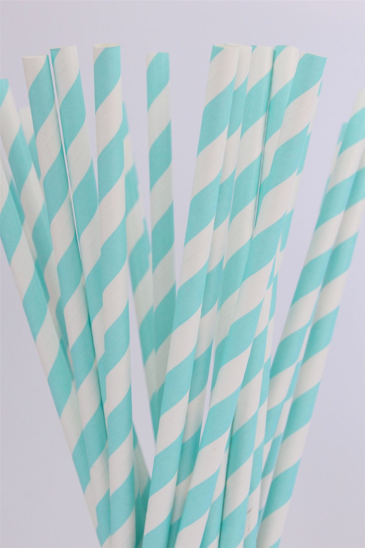 Pack of 25 Drinking Retro Paper Straws for Birthday Party Wedding Decoration