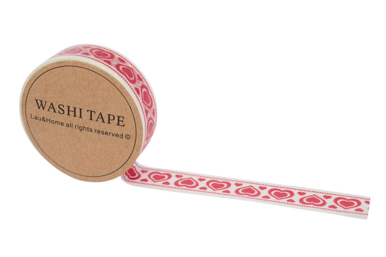 washi tape 10m roll decorative sticky paper masking tape adhesive craft ebay. Black Bedroom Furniture Sets. Home Design Ideas