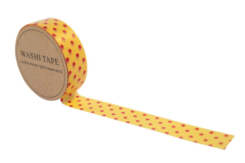 Washi tape paper masking deco sticky adhesive gift craft for Decoration masking tape
