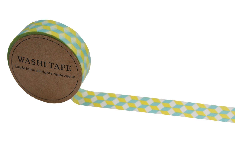 Washi tape adhesive sticky paper masking decoration 10 for Decoration masking tape