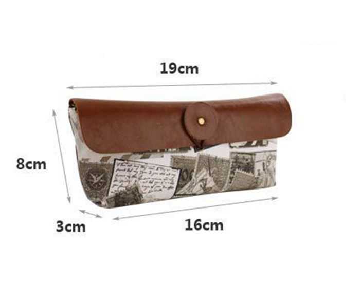 Fabric-Vintage-Retro-Style-Pencil-Case-Accessory-for-School-Office